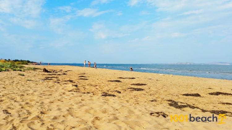 Пляж поселка Ильич