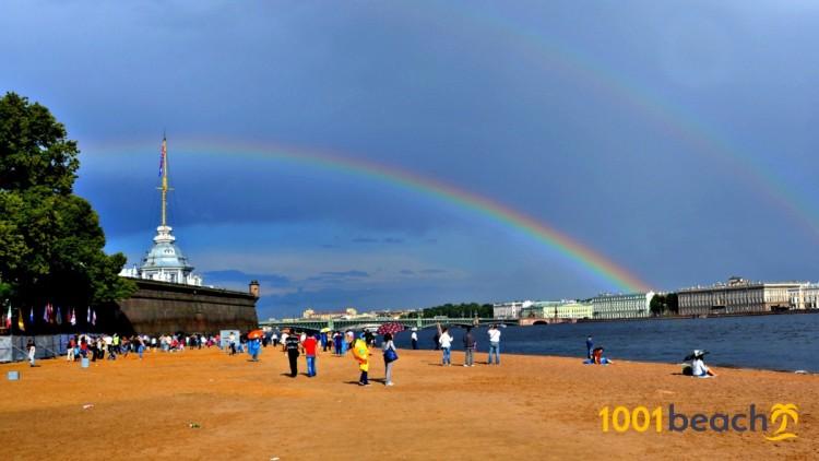 Пляж Петропавловской крепости