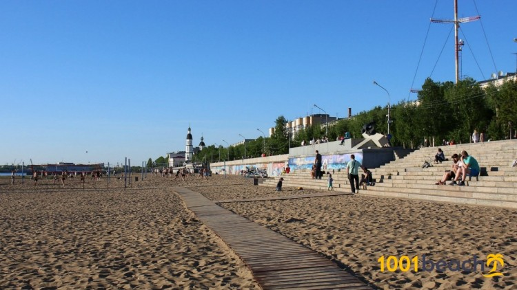 Городской пляж Архангельска