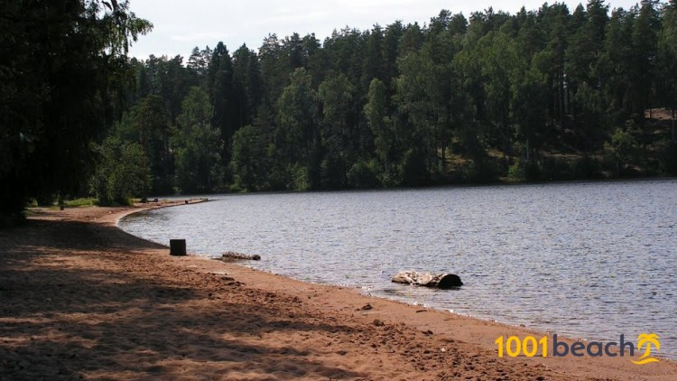 Пляж озера Красавица